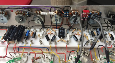 N5X to AX84 L2L Amp Build